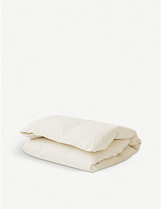 TEKLA: Organic cotton duvet cover