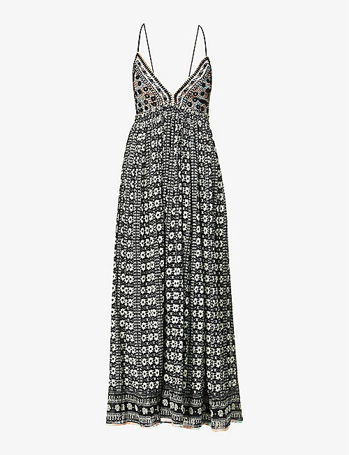 FREE PEOPLE: Good Vibes cotton midi dress