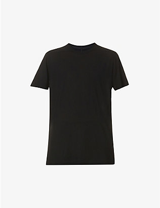 RICK OWENS: Level semi-sheer jersey T-shirt