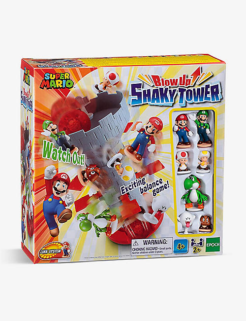 POCKET MONEY: Super Mario Blow Up! Shaky Tower game