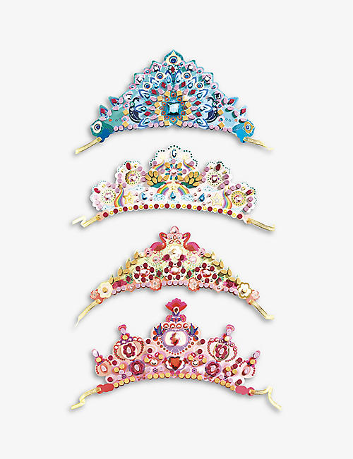 DJECO: Like A Princess tiara set of 4