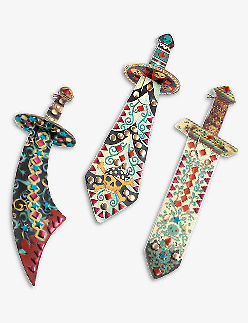 DJECO: Pirate Sword set of three