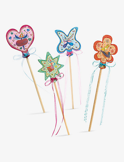 DJECO: Little Faries wands set of 4