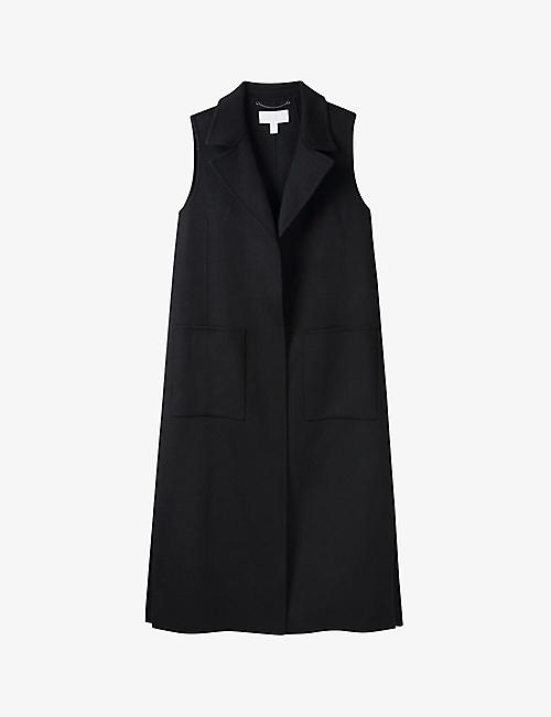 THE WHITE COMPANY: Double-faced wool-blend gilet