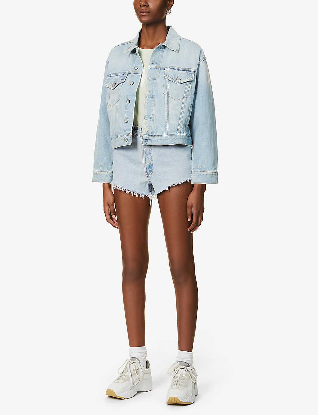Pre Loved Denim Shorts