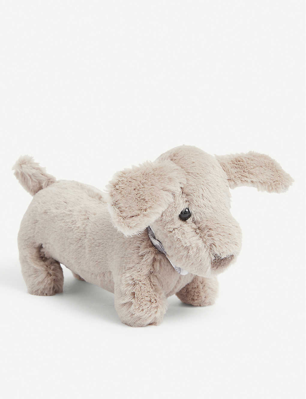 THE LITTLE WHITE COMPANY: Roland Sausage Dog mini soft toy 21cm