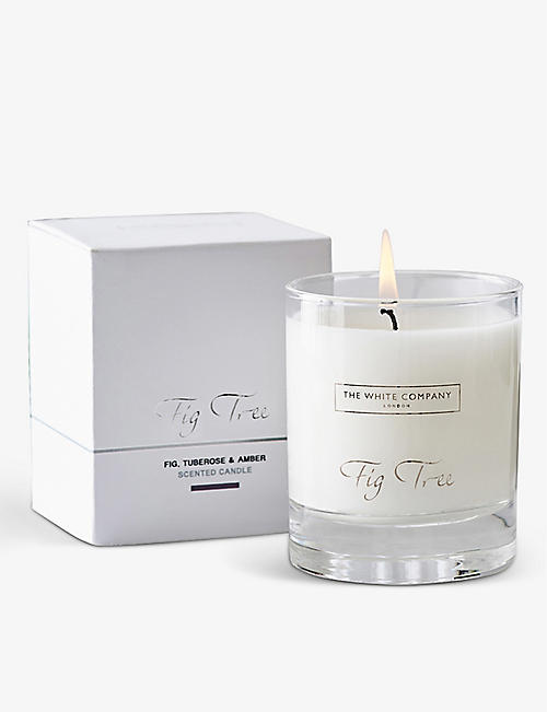 THE WHITE COMPANY: Fig Tree signature scented candle 140g