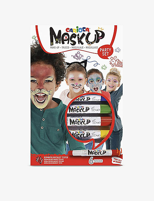 CARIOCA: Mask Up Party face paint sticks set of six