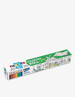 CARIOCA: Jungle colour roll and pencils set