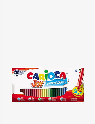 CARIOCA: Joy fine-nip felt-tip pens set of 36