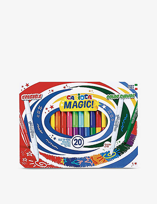 CARIOCA: Magic maxi-nib felt-tip pens set of 20