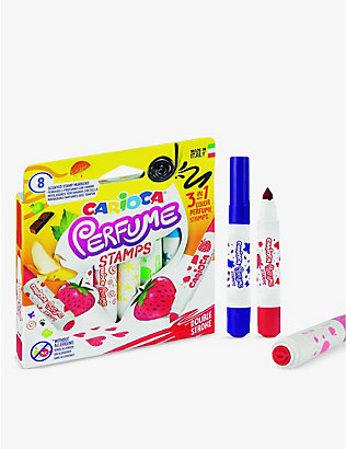 CARIOCA: Perfume Stamps coloured pens set of 8