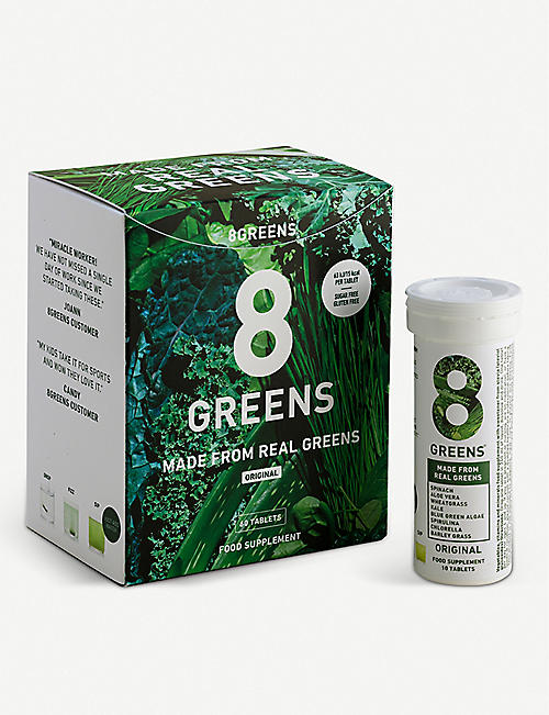 8GREENS: Effervescent greens supplement 60 tablets 600g