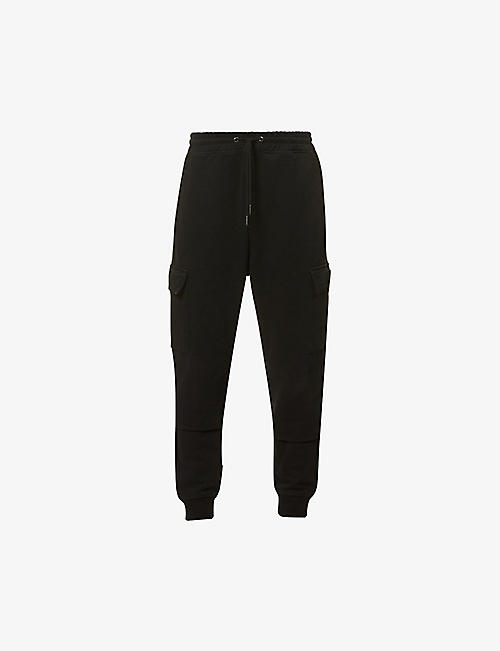 7 FOR ALL MANKIND: Cargo cotton-jersey jogging bottoms