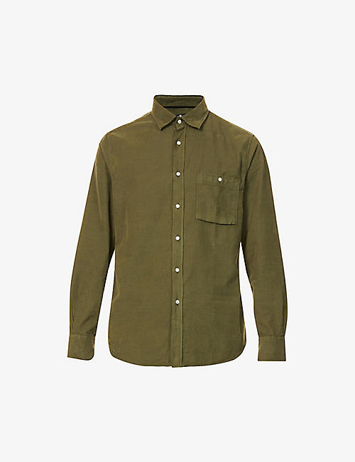 7 FOR ALL MANKIND: Corduroy cotton overshirt