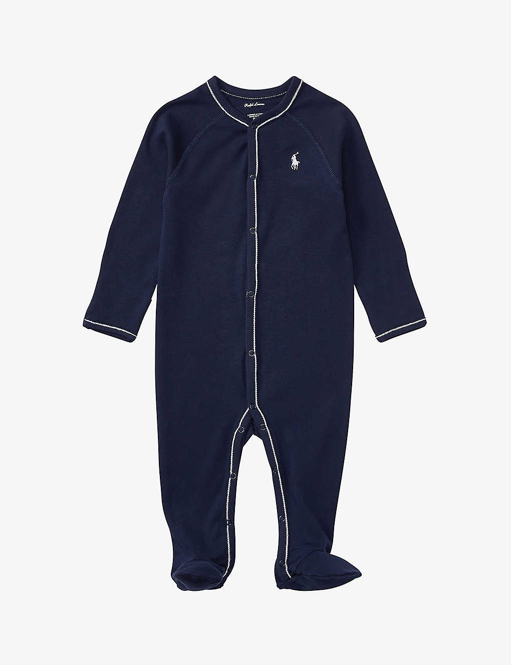 RALPH LAUREN: Branded cotton baby grow 0-9 months