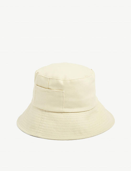 LACK OF COLOR: Wave cotton-canvas bucket hat