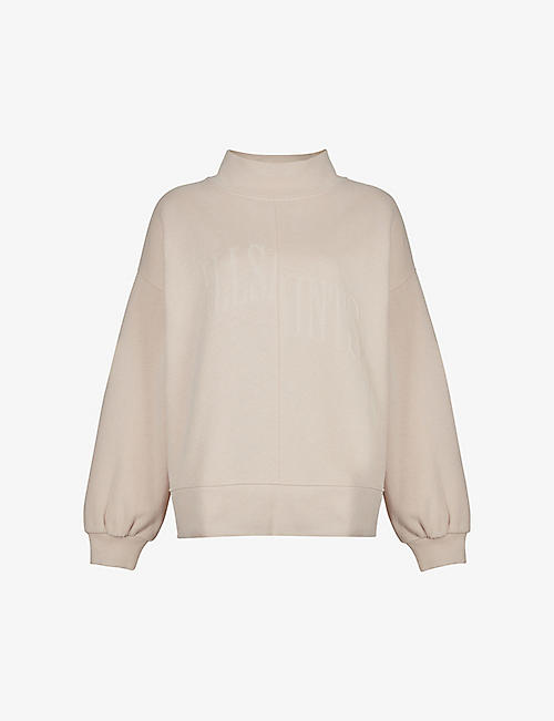 ALLSAINTS: Nevarra organic-cotton and recycled polyester-blend sweatshirt