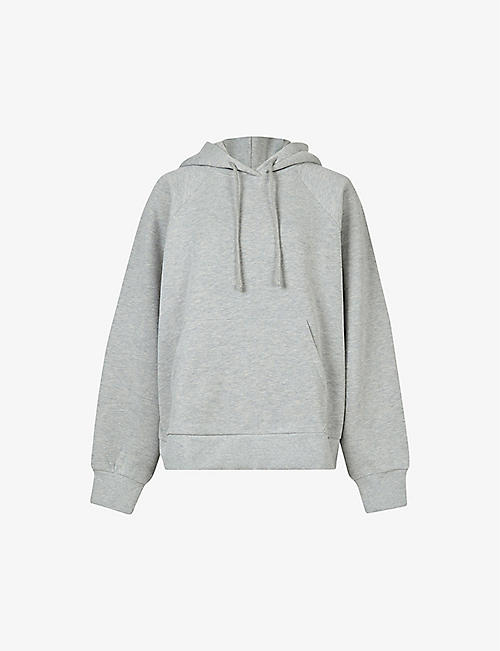 ALLSAINTS: Talon logo-back cotton-blend hoody