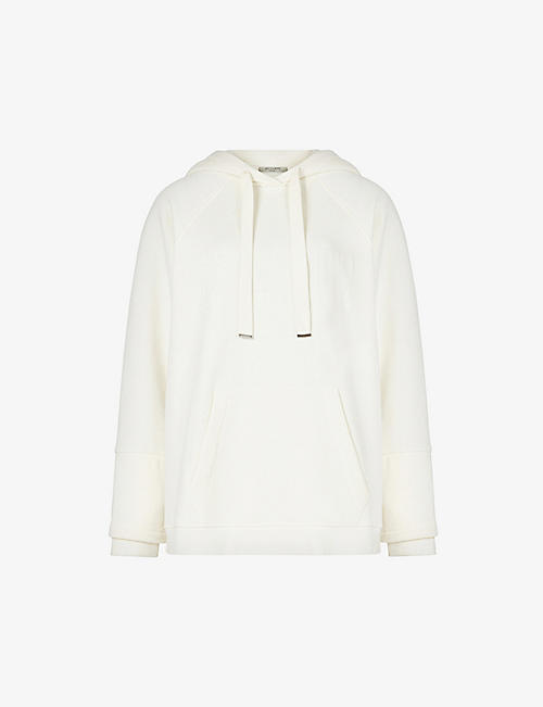 ALLSAINTS: Lucia organic-cotton and recycled polyester-blend hoody