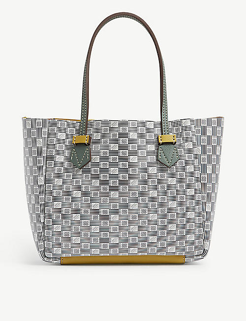 MOREAU PARIS: Vincennes small leather tote
