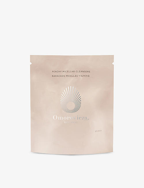 OMOROVICZA: Peachy Micellar Cleansers refills 60 discs