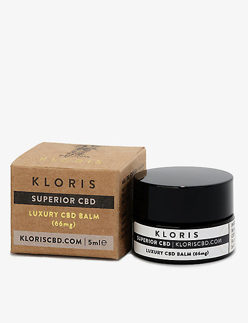 KLORIS: On-The-Go Luxury 66mg CBD balm 5ml