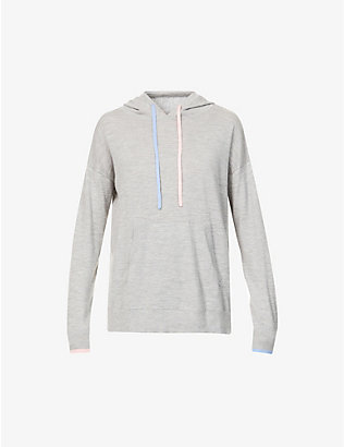 CHINTI AND PARKER: Marl-pattern cashmere hoody