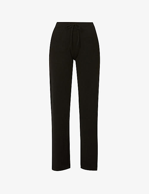 CHINTI AND PARKER: Essentials straight-leg high-rise cashmere trousers