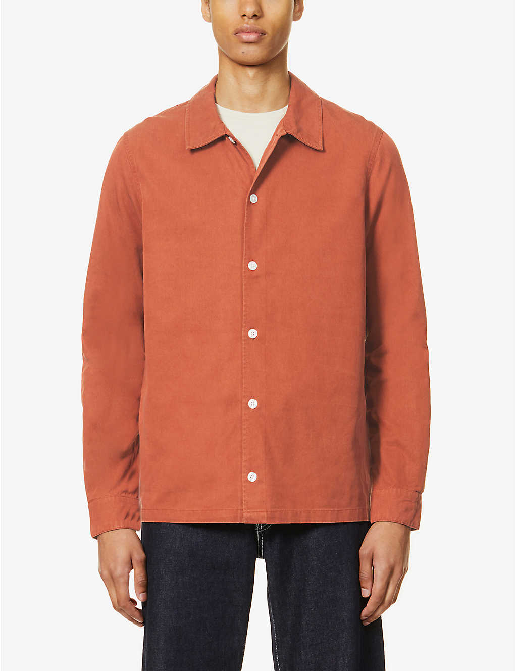 SAMSOE & SAMSOE: Taka relaxed-fit lyocell and cotton-blend shirt