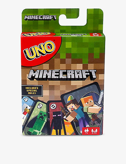 BOARD GAMES: Uno Minecraft card game