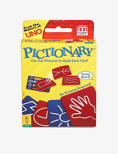 BOARD GAMES: Pictionary card game