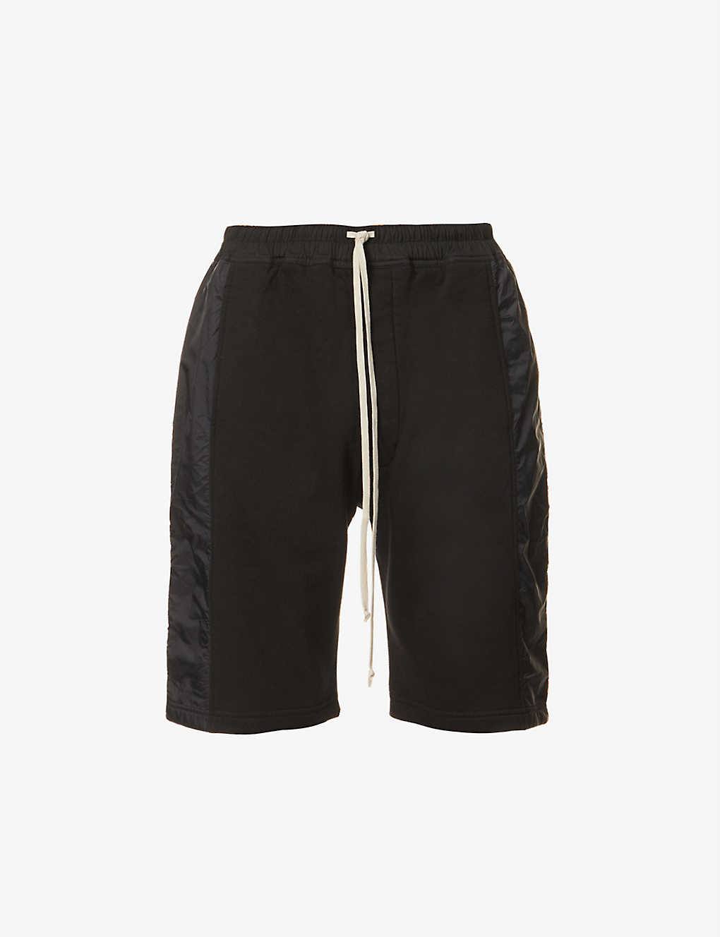 RICK OWENS DRKSHDW: Pusher regular-fit cotton-jersey and shell shorts