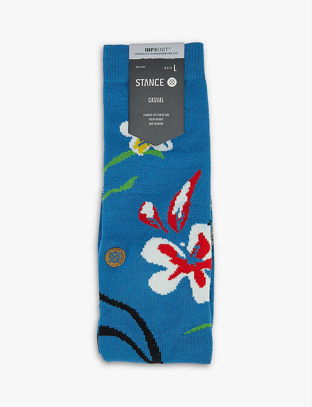 STANCE: Our Roots cotton-jersey socks