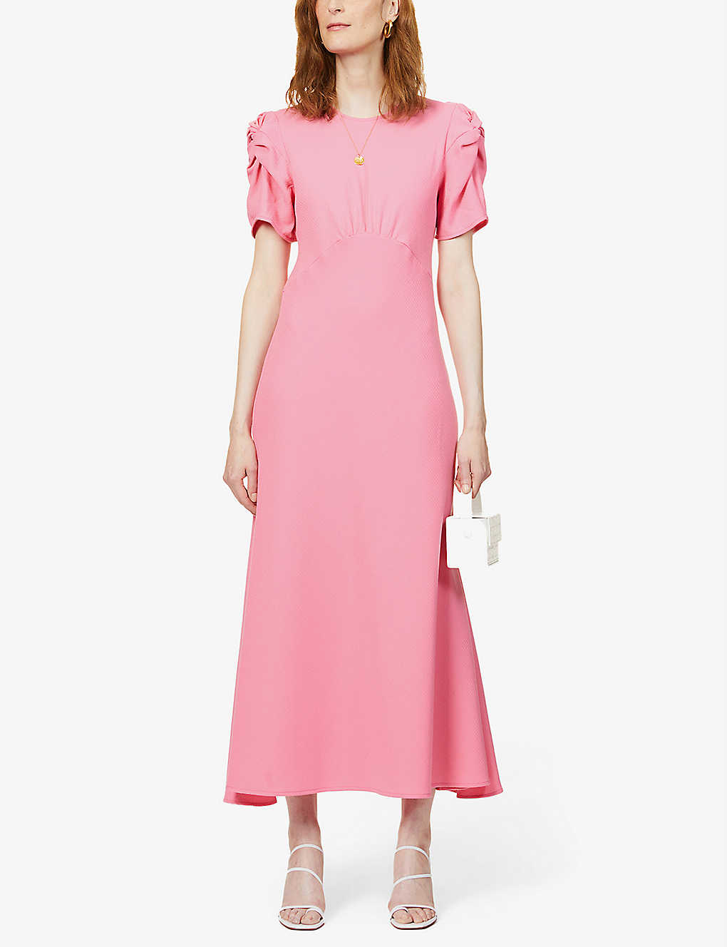 MAGGIE MARILYN: It's Up To You short-sleeved wool midi dress