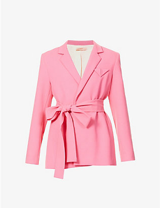 MAGGIE MARILYN: Have The Faith belted wool blazer
