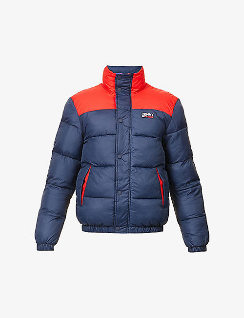TOMMY JEANS: padded shell-down jacket
