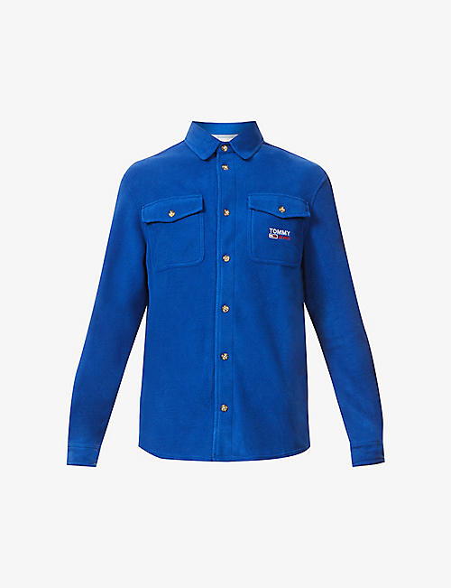 TOMMY JEANS: Polar regular-fit fleece shirt