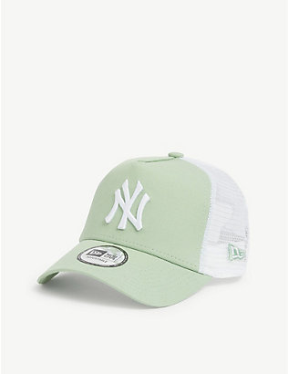 NEW ERA: New York Yankees cotton mesh trucker cap
