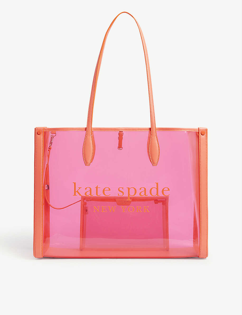 KATE SPADE NEW YORK: Clear tote bag