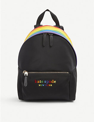 KATE SPADE NEW YORK: Pride nylon backpack