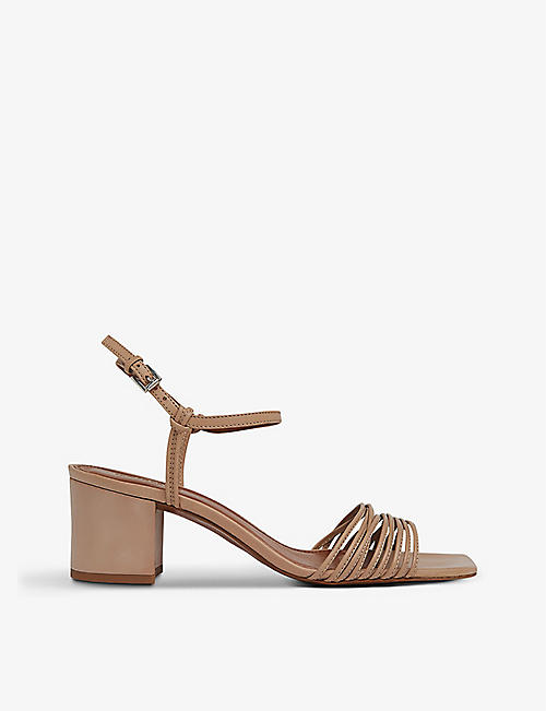 WHISTLES: Hana leather heeled sandals