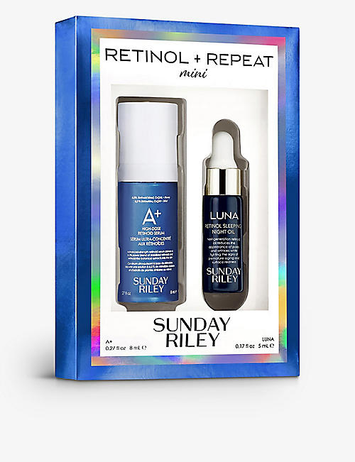 SUNDAY RILEY: Mini Retinol + Repeat travel kit