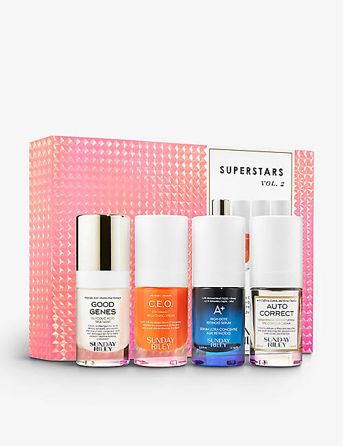 SUNDAY RILEY: Superstars travel kit