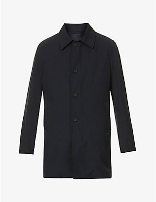 OSCAR JACOBSON: Johnsson stretch-woven coat