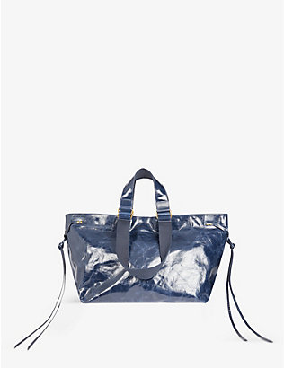 ISABEL MARANT: Wardy leather tote bag