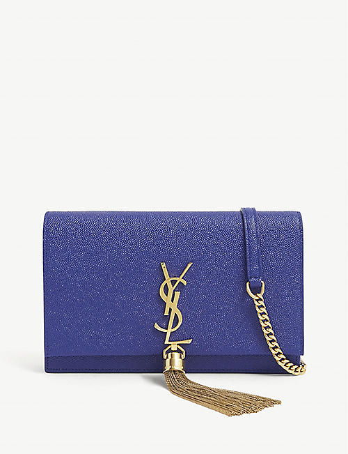 SAINT LAURENT: Kate small monogram leather wallet-on-chain
