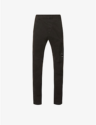 CP COMPANY: Ergonomic-fit stretch-cotton trousers