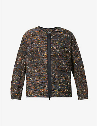 SONG FOR THE MUTE: Patch pocket woven jacket