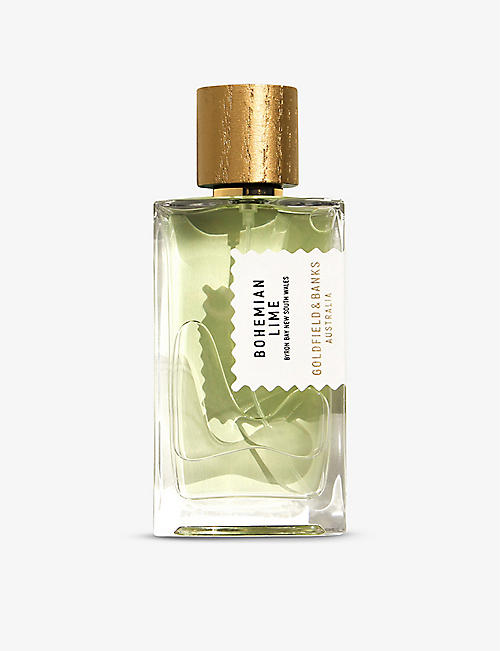GOLDFIELD & BANKS: Bohemian Lime perfume concentrate 100ml
